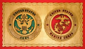 army and marine