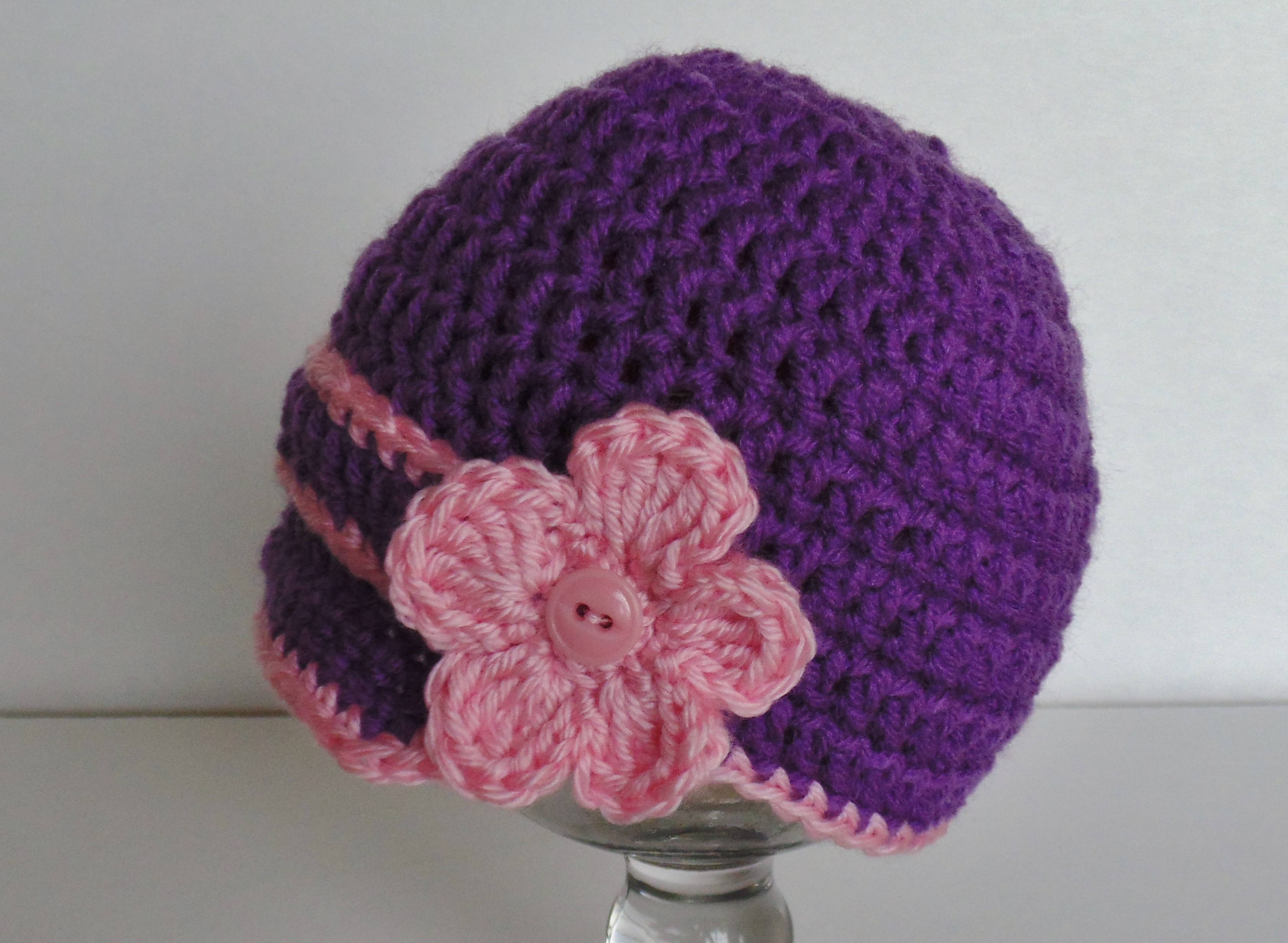 Crochet Patterns Instructions : Crochet any hat Instructions acraftyday