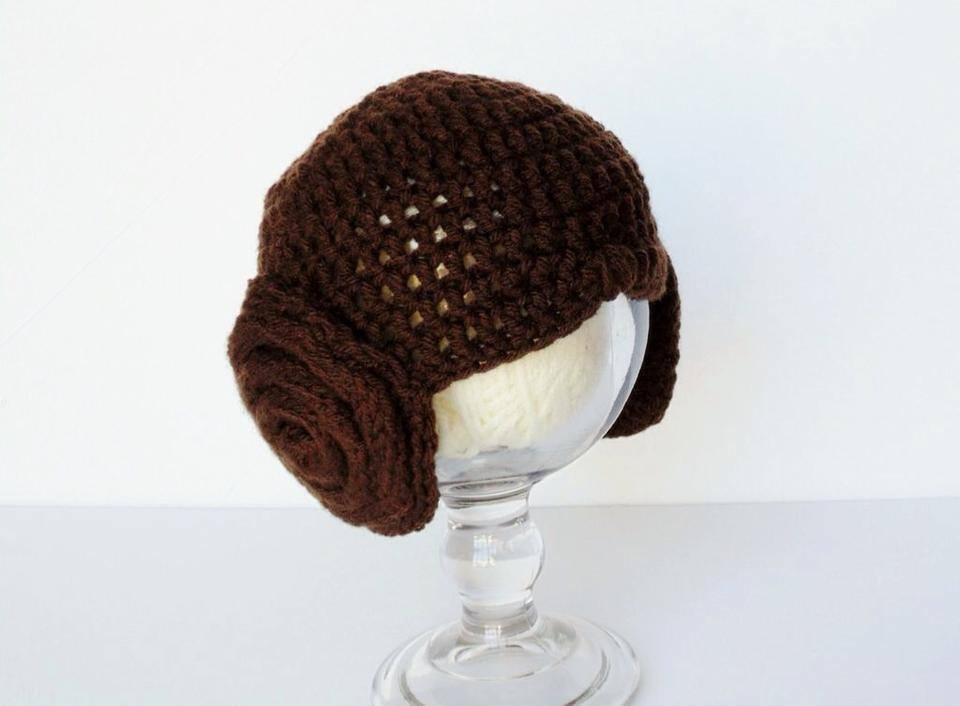 Crochet Pattern Princess Leia Hat : Crochet acraftyday Page 3